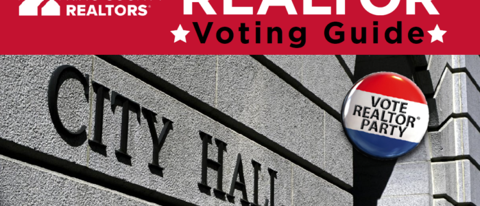 City Hall REALTOR Voting Guide